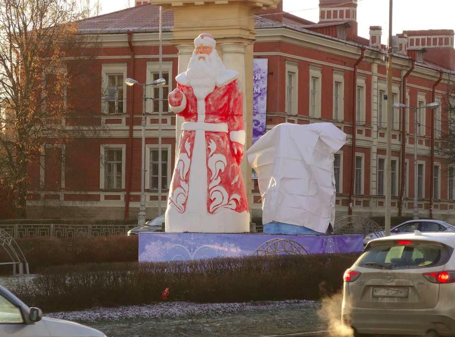 улицах фото приколы снегурочка в гатчине сожалению каток
