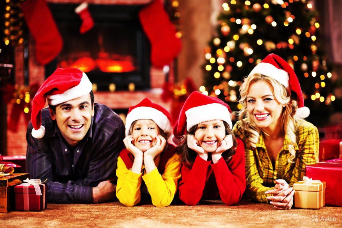 Картинки семейные новый год