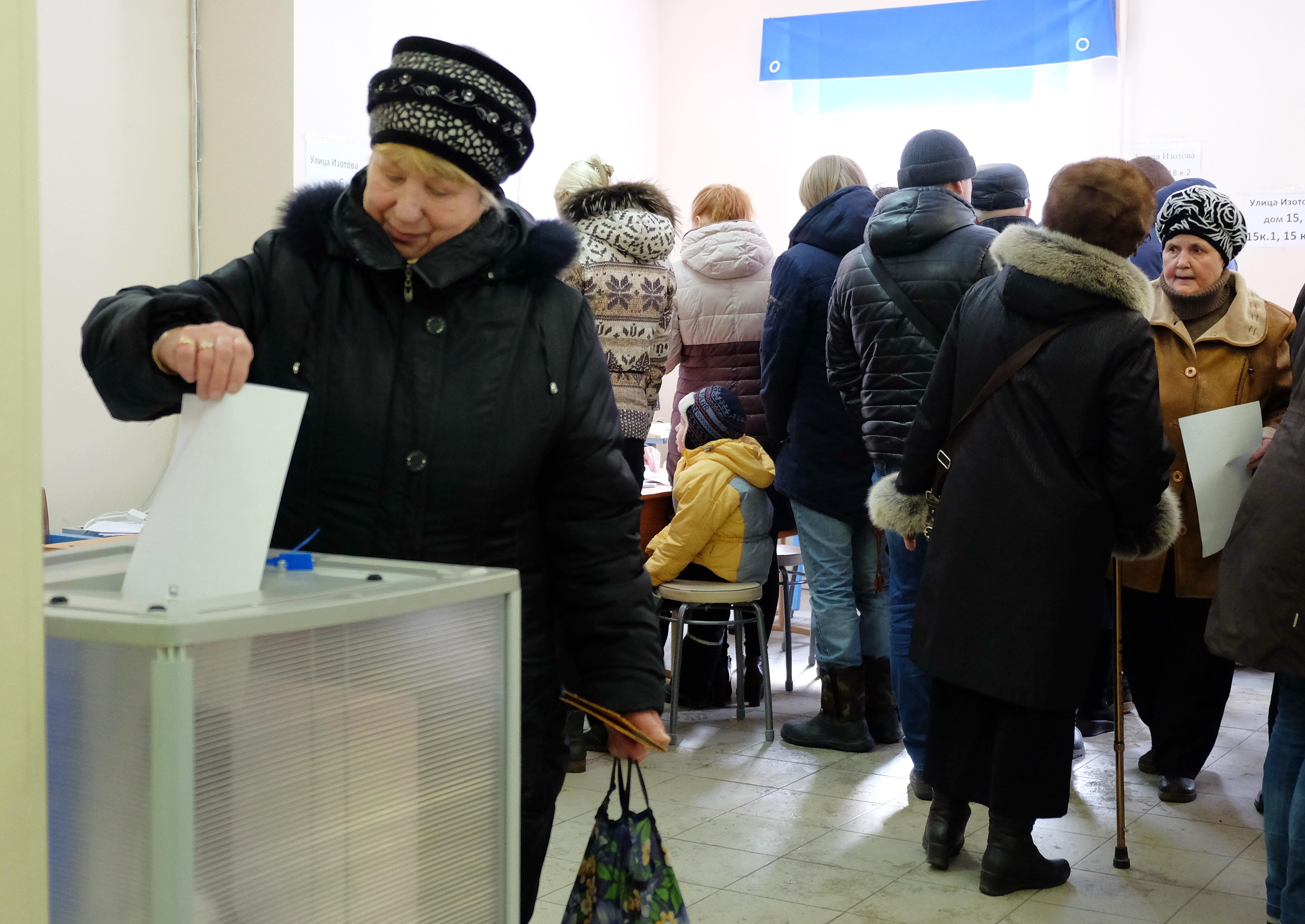 Результаты голосования вЛенинградской области