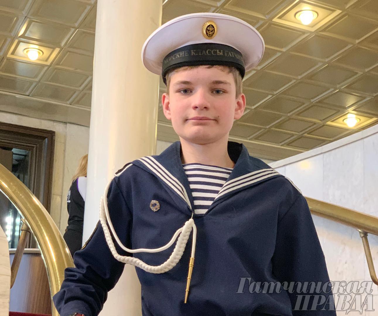 Победа гатчинского кадета «На берегах Невы»